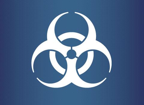 Mold inspection symbol